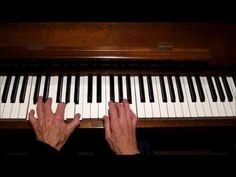 """Jazz For Beginners, (Part 2), Block Chords applied to Chord Progression,: """"That's All"""" - YouTube"""