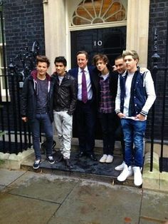 With David Cameron for OWOA