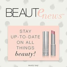 Get the latest beauty trends delivered right to your inbox. Sign up for Beaut-e-news™ today! www.marykay.com/ratanyiapage (via @MaryKay) Check out: http://randombabblings.ning.com/page/mary-kay-huge-give-a-way