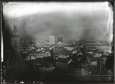 Bratislava, contact print from dry collodion negative : 18x24 cm,  by jukov7