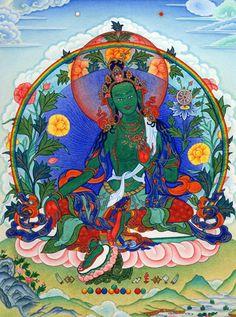 Noble Lady Tara Sengdeng Nagchi Drolma