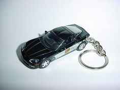 Cheap Sale New 3d Black 1978 Chevrolet Corvette Custom Keychain Keyring Key Vette Bling!!! Transportation