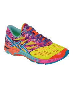 Look what I found on #zulily! Flash Yellow & Turquoise Gel-Noosa Tri 10 Running Shoe #zulilyfinds