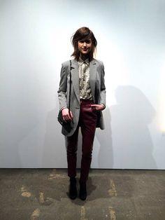 Modelos y vestidos de moda de Pedro del Hierro Madrid en Nueva York