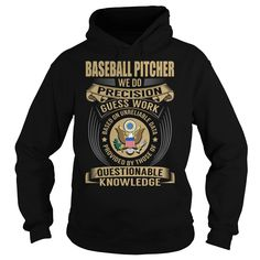 (Tshirt Charts) Baseball Pitcher Job Title V1 [Teeshirt 2016] Hoodies, Tee Shirts
