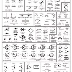 Circuit symbols terminals and connectors geeksville pinterest electrical schematic symbols cheapraybanclubmaster Choice Image
