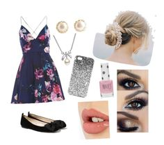 """""""Untitled #1"""" by ashtonluvsyuh ❤ liked on Polyvore featuring AX Paris, MANGO, Charlotte Tilbury, MBLife.com and Topshop"""