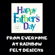 Felt Gifts, Do Anything, Happy Fathers Day, Facebook Sign Up, Small Businesses, Dads, Rainbow, Gift Ideas, Nice