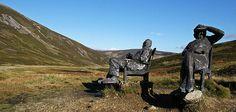 Non solo Natura: anche delle statue  nel  Cairngorms National Park!