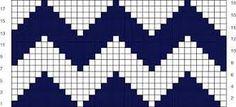 Tejer en técnica Tapestry / Desafío de septiembre   Crochet y Dos agujas - Patrones de tejido