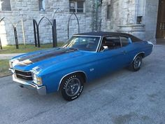 1971 Chevelle SS454, Cowl-Induction LS5 454/360hp 4bbl V8, M21 Close-Ratio 4speed, 3.55 12bolt Positraction & F41