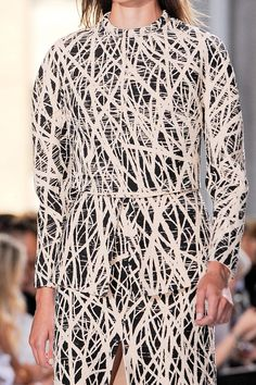 Designer of the Day: Proenza Schouler (seems very Jackson Pollock inspired...I like!)