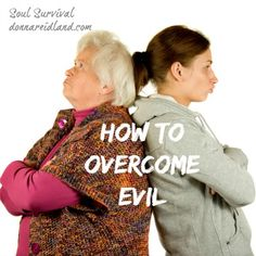 """""""How to Overcome Evil"""" -We are not to be overcome by evil. In fact, we are commanded to overcome it! Scripture gives specific instructions for how to overcome evil. Do you know what it is?"""
