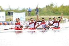 SPORTS And More: #canoeing K4 1000 #Portugal #European Silver medal...