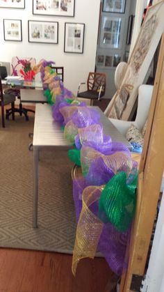 Deco mesh is easy to work with, light weight and water proof. Deco mesh garlands are perfect for railings, around doors and along firepla...