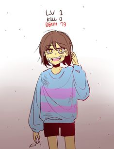 Undertale Fanart, Undertale Au, Tv Head, Detroit Become Human, Tsundere, Frisk, Depression, Old Things, The Incredibles