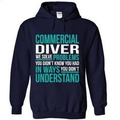 COMMERCIAL-DIVER #teeshirt #Tshirt. GET YOURS => https://www.sunfrog.com/No-Category/COMMERCIAL-DIVER-5935-NavyBlue-Hoodie.html?60505