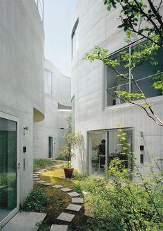 Okurayama Apartments (Tokio, Japon).