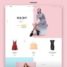 Web Design Tips and Guidelines Web Design Websites, Ecommerce Website Design, Web Design Agency, Web Design Tips, Design Blog, Ux Design, Website Design Inspiration, Fashion Website Design, Daily Inspiration