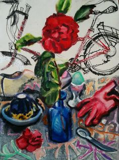 Spring – Summer Work from Gallery Artists Spring Summer, Fine Art, Rose, Artist, Flowers, Painting, Outdoor Camping, Stars, Pink