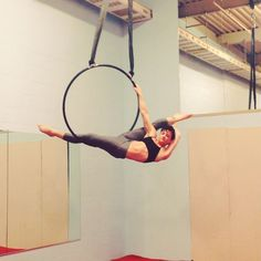 To be a part of something in which you will never stop creating, it's wonderful. #lyra #aerial #aerialist #aerialhoop #hoop #splits #scorpion #cello #feels