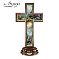 Thomas Kinkade Faith Cross