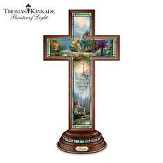 Thomas Kinkade Faith Cross