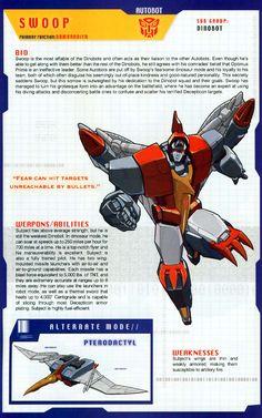 Swoop (My favorite of the Dinobots) Transformers Autobots, Transformers Characters, Transformers Funny, Gi Joe, 90s Cartoons, Optimus Prime, Manga, Doraemon, Childhood