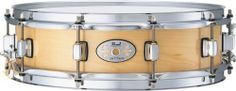 "Pearl M1440102 Snare Drum, 14-inchx4-inch, 6 ply Maple by Pearl. $509.00. The Pearl M1440102 14"" x 4"" Maple Snare Drum features a 6 ply Maple Shell, CL-05 Bridge Style Lugs and an SR-018 strainer. This versatile drum can be used for secondary effects or act as your primary snare drum."