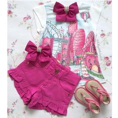 Pretty Baby, Baby Love, Baby Boy Doll Clothes, Toddler Outfits, Girl Outfits, Short Niña, Baby Tumblr, Kids Frocks Design, Designer Baby Clothes