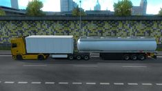 Fuel Cistern Trailer Mod For Multiplayer mod for mod adds Ownership B-Double + Fuel Cistern Trailer to the game. You can buy Semi-trailer. You can play in multiplayer mode with this. Semi Trailer, Single Player, Games, Cell Phone Wallpapers, Gaming, Plays, Game, Toys