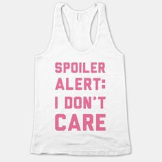 These Sassy Tank Tops from Human Show you Could Not Care Less trendhunter.com
