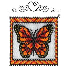 Herrschners Pony Bead Patterns, Peyote Patterns, Beading Patterns, Seed Bead Art, Seed Beads, Pony Bead Crafts, Diy Bead Embroidery, Beaded Banners, Peyote Beading
