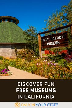 Enjoy fun and free lesser-known museums in Northern California. They're fun for an affordable family day trip. Central California, California Travel, Northern California, Best Bucket List, Restoration Shop, Famous Beaches, Nevada City, Free Museums, Old Mansions