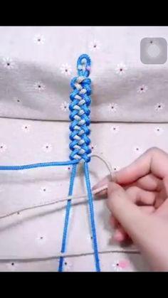 Rope Crafts, Diy Crafts Jewelry, Bracelet Crafts, Jewelry Ideas, Diy Bracelets Patterns, Diy Bracelets Easy, Making Bracelets, Macrame Bracelets, Handmade Bracelets