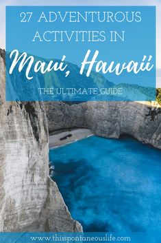 Looking for things to do on Maui Hawaii? Then check out my ultimate guide on adventurous activities in Maui. Borders & Bucket Lists | Maui itinerary | Maui travel tips | Visit Maui | traveling to Hawaii | Maui | Hawaii Tourism | Maui Travel | Vacation to Maui | Things to Do | Things to See | Visiting Maui Hawaii | Places to Go | Culture | Food | Like a Local #travel #vacation #backpacking #budgettravel #wanderlust #maui #hawaii Hawaii Vacation, Maui Hawaii, Vacation Trips, Hawaii Honeymoon, Vacation Ideas, Maui Travel, Travel Usa, Travel Tips, Solo Travel