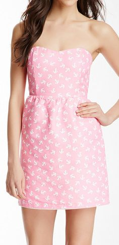 Anchors dress