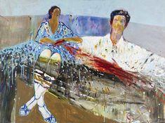 Mai Lashauri, Untitled, 2018, GALLERI RAMFJORD Miami, Artsy, Canvas, Artwork, Painting, Tela, Work Of Art, Painting Art, Canvases