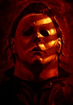 "johnny-dynamo: ""Michael Myers by Sam Raw """