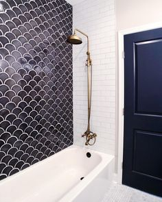 Bathroom shower tile ideas are a lot in choices. Grab some inspirations here and check out these shower tile ideas to revamp your old bathroom shower! Bathroom Floor Tiles, Bathroom Renos, Bathroom Ideas, Bathroom Showers, Remodel Bathroom, Bathroom Organization, Master Bathrooms, Bathroom Renovations, Bathroom Faucets
