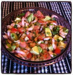 Avacado Shrimp Salad