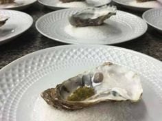 Ostra   4ª Cena Maridaje de Espíritu de Galicia del restaurante Alborada en A Coruña