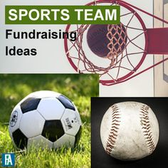 Sports Team Fundraising Ideas, including soccer, baseball, basketball, and football. Baseball Mom, Baseball Teams, Cardinals Baseball, School Sports, Football Fundraising Ideas, A Team, Basketball, Sports Teams, Fundraisers