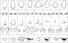 Cartoon Mouth | Recognizing Facial Feature Types - Cartooning