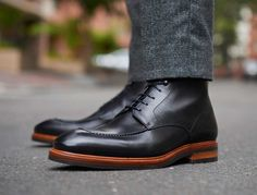Beckett Simonon solves your winter dress shoe dilemmas.