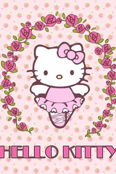 Ballerina hello kitty