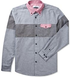 pattern + pocket + paneling + buttons