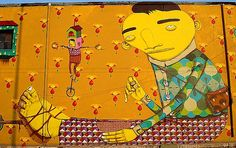 Os Gemeos: Athens, Greece