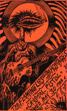Flaming Lips 1984 poster