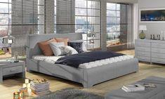 Łóżko 81236 tapicerowane z pojemnikiem na pościel M